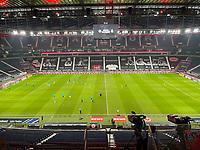 Innenraum des Deutsche Bank Park - 15.12.2020: Eintracht Frankfurt vs. Borussia Moenchengladbach, Deutsche Bank Park, Bundesliga 12. Spieltag<br /> DISCLAIMER: DFL regulations prohibit any use of photographs as image sequences and/or quasi-video.