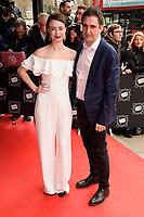 Jennifer Kirby and Stephen McGann<br /> arriving for TRIC Awards 2018 at the Grosvenor House Hotel, London<br /> <br /> ©Ash Knotek  D3388  13/03/2018