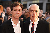 """Nic and David Sheff<br /> arriving for the London Film Festival screening of """"Beautiful Boy"""" at the Cineworld Leicester Square, London<br /> <br /> ©Ash Knotek  D3441  13/10/2018"""