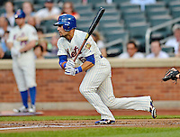 24 July 2012: New York Mets outfielder Andres Torres in action against the Washington Nationals at Citi Field in Flushing, NY. The Nationals defeated the Mets 5-2 to take the second game of their 3-game series. Mandatory Credit: Ed Wolfstein Photo