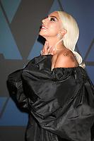 LOS ANGELES - NOV 18:  Lady Gaga at the 10th Annual Governors Awards at the Ray Dolby Ballroom on November 18, 2018 in Los Angeles, CA