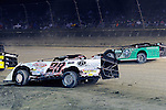 Sep 12, 2010; 12:15:34 AM; Rossburg, OH., USA; The 40th annual running of the World 100 Dirt Late Models racing for the Globe trophy at the Eldora Speedway.  Mandatory Credit: (thesportswire.net)