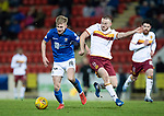 St Johnstone v Motherwell…..12.02.20   McDiarmid Park   SPFL<br />Ali McCann and Allan Campbell<br />Picture by Graeme Hart.<br />Copyright Perthshire Picture Agency<br />Tel: 01738 623350  Mobile: 07990 594431