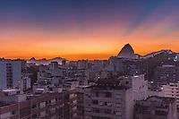 RJ. RIO DE JANEIRO. 20.02.20 CLIMA TEMPO Amanhecer desta quinta-feira, (20), vista do bairro das Laranjeiras, zona sul. (Foto: Ellan Lustosa / Codigo 19) (Foto: Ellan Lustosa/Codigo 19/Codigo 19)