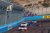 Monster Energy NASCAR Cup Series<br /> Can-Am 500<br /> Phoenix Raceway, Avondale, AZ USA<br /> Sunday 12 November 2017<br /> Matt Kenseth, Joe Gibbs Racing, Circle K Toyota Camry drives under the checkered flag to win<br /> World Copyright: Russell LaBounty<br /> LAT Images