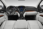Stock photo of straight dashboard view of 2020 Acura mdx Base 5 Door SUV