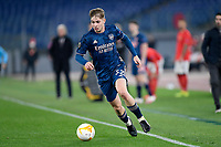 18th February 2021, Rome, Italy;  Emile Smith Rowe of Arsenal during the UEFA Europa League round of 32 Leg 1 match between SL Benfica and Arsenal at Stadio Olimpico, Rome, Italy on 18 February 2021.