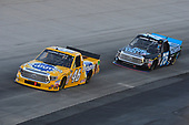 NASCAR Camping World Truck Series<br /> Bar Harbor 200<br /> Dover International Speedway, Dover, DE USA<br /> Friday 2 June 2017<br /> Todd Gilliland, Pedigree Toyota Tundra, Parker Kligerman, Food Country USA / Lopez Wealth Management Toyota Tundra<br /> World Copyright: John K Harrelson<br /> LAT Images<br /> ref: Digital Image 17DOV1jh_03416