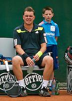 France, Paris, 28.05.2014. Tennis, French Open, Roland Garros, Marcin Matkowski (POL)<br /> Photo:Tennisimages/Henk Koster