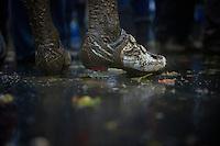 muddy shoes<br /> <br /> Bpost Bank Trofee - GP Mario De Clerq 2013