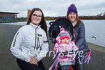 Enjoying a walk in the Tralee Bay Wetlands on Saturday. L to r: Sarah Maunsell, Olivia Carey and Linda Maunsell