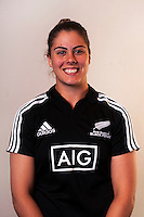 Eloise Blackwell. New Zealand Black Ferns headshots at The Rugby Institute, Palmerston North, New Zealand on Thursday, 28 May 2015. Photo: Dave Lintott / lintottphoto.co.nz