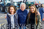 Sheila, Amy and Noel Hartnett at the Blennerville Tractor Run Into the West fundraiser for Kerry Hospice on Sunday.