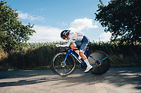 6th October 2021 Womens Cycling Tour, Stage 3. Individual Time Trial; Atherstone to Atherstone. Jade Wiel.