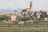 ESPAÑA, 31-08-2019: Paisaje durante la etapa 8, hoy, 31 de agosto de 2019, que se corrió entre Valls e Igualada con una distancia de 166,9 km como parte de La Vuelta a España 2019 que se disputa entre el 24/08 y el 15/09/2019 en territorio español. / Landscape during stage 8 today, August 31, 2019, from Valls to Igualada with a distance of 166,9 km as part of Tour of Spain 2019 which takes place between 08/24 and 09/15/2019 in Spain.  Photo: VizzorImage / Luis Angel Gomez / ASO<br /> VizzorImage PROVIDES THE ACCESS TO THIS PHOTOGRAPH ONLY AS A PRESS AND EDITORIAL SERVICE AND NOT IS THE OWNER OF COPYRIGHT; ANOTHER USE HAVE ADDITIONAL PERMITS AND IS  REPONSABILITY OF THE END USER