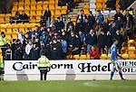 St Johnstone v Aberdeen...06.02.16   SPFL   McDiarmid Park, Perth<br /> Saints fans<br /> Picture by Graeme Hart.<br /> Copyright Perthshire Picture Agency<br /> Tel: 01738 623350  Mobile: 07990 594431