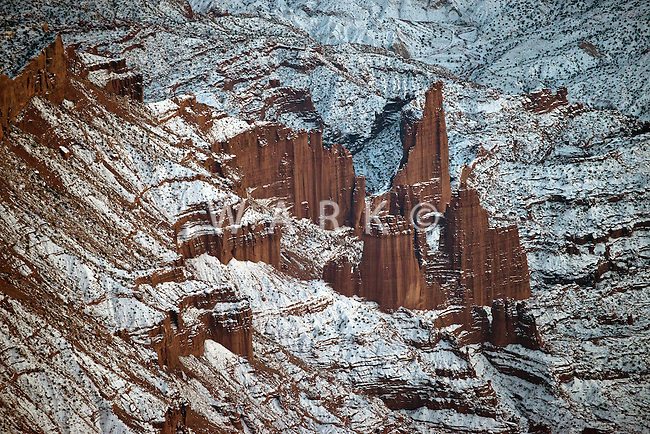 Arches National Park, Utah.  Dec 27, 2013