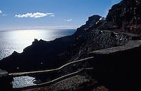 Spanien, Kanarische Inseln, Gomera, an der Westküste
