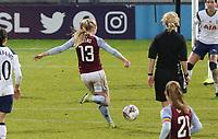 Caroline Siems of Aston Villa shot goes wide during Tottenham Hotspur Women vs Aston Villa Women, Barclays FA Women's Super League Football at the Hive Stadium on 13th December 2020