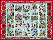 ,LANDSCAPES, LANDSCHAFTEN, PAISAJES, LornaFinchley, paintings+++++,USHCFIN0080AZ,#L#, EVERYDAY ,vintage,stamps,puzzle,puzzles