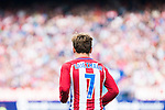 Atletico de Madrid's player Antoine Griezmann during a match of La Liga Santander at Vicente Calderon Stadium in Madrid. September 25, Spain. 2016. (ALTERPHOTOS/BorjaB.Hojas)