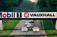 1992 British Touring Car Championship. Race action.