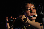 March 30, 2013, Penang, Malaysia - Dagaya music group from Nagoya, Japan, performing with Japanese traditional instruments at Penang World Music Festival 2013, Penang Botanic Gardens, Quarry Park, Penang, Malaysia. (Photo by Robertus Pudyanto/AFLO)