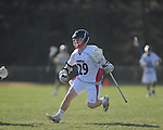 Ole MIss' Ben Holliman (29) vs. Georgia Tech in lacrosse at the Ole Miss Intramural Fields in Oxford, Miss. on Saturday, February 2, 2013. Georgia Tech won 8-5.