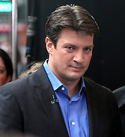 May 04, 2012 Nathan Fillion from ABC TV series Castle at Good Morning America in New York City. Credit: RW/MediaPunch Inc.