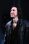 """Adam Driver during the Broadway Opening Night Curtain Call for Landford Wilson's """"Burn This""""  at Hudson Theatre on April 15, 2019 in New York City."""