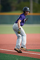 Kevin Ortiz (57), from Grayson, Georgia, while playing for the Rockies during the Baseball Factory Pirate City Christmas Camp & Tournament on December 28, 2017 at Pirate City in Bradenton, Florida.  (Mike Janes/Four Seam Images)