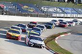 #11: Denny Hamlin, Joe Gibbs Racing, Toyota Camry FedEx Ground #12: Ryan Blaney, Team Penske, Ford Mustang Menards/Libman #22: Joey Logano, Team Penske, Ford Mustang Shell Pennzoil