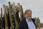 Michel Le Bris, creator and director of Etonnants Voyageurs, photo taken in 2007.