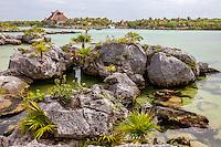 Xel Ha Eco-adventure Park, Playa del Carmen, Riviera Maya, Yucatan, Mexico.