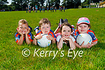 Attending the Ballymac GAA Cúl Camps on Tuesday. L to r: Mason Noah O'Brien, Patrick O'Connor, Amelia Harper Duggan and Clara Kate O'Connor