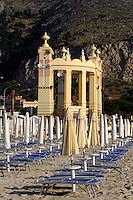 Antico Stabilimento Balneare im Seebad Mondello, Sizilien, Italien
