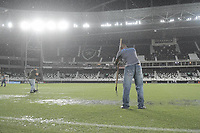 Rio de Janeiro (RJ), 30/01/2020 - Botafogo-Redende - Chuva paraliza partida contra o Resende,valida pela 4ª rodada da Taca Guanabara 2020, realizada no Estadio Nilton Santos (Engenhao), na zona norte do Rio de Janeiro,nesta quinta (30). (Foto: Alexandre Durao/Codigo 19/Codigo 19)