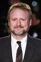 """LONDON, UK. October 08, 2019: Rian Johnson arriving for the """"Knives Out"""" screening as part of the London Film Festival 2019 at the Odeon Leicester Square, London.<br /> Picture: Steve Vas/Featureflash"""