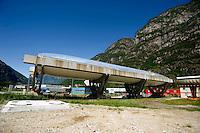 Airlight Energy, collettore  solare (parabolico lineare)