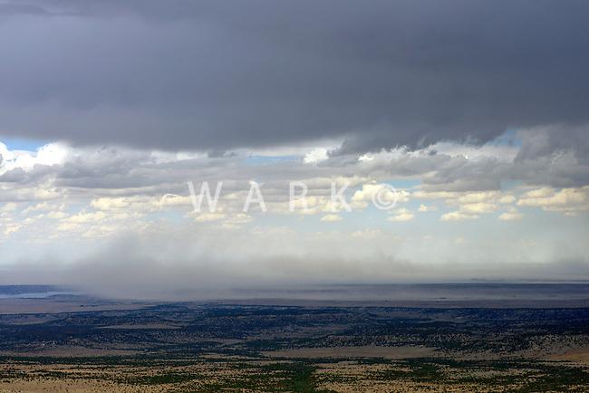 Thunderstorm gusts.  Pueblo County, Colorado.  July 2013.  89887