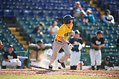 Siena Saints shortstop Rich Gilbride (5) during a game against the Pittsburgh Panthers on February 24, 2017 at Historic Dodgertown in Vero Beach, Florida.  Pittsburgh defeated Siena 8-2.  (Mike Janes/Four Seam Images)