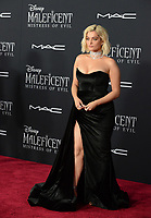 """LOS ANGELES, USA. September 30, 2019: Bebe Rexha at the world premiere of """"Maleficent: Mistress of Evil"""" at the El Capitan Theatre.<br /> Picture: Jessica Sherman/Featureflash"""