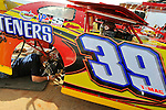 Jan 28, 2010; 3:45:05 PM; Waynesville, GA., USA; The Southern All Stars Racing Series running The Super Bowl of Racing VI at Golden Isles Speedway.  Mandatory Credit: (thesportswire.net)