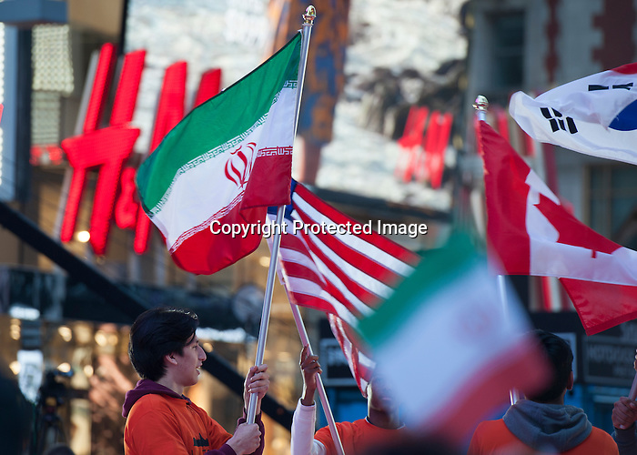 """USA to face Iran in Times Square in New York City May 19 in """"United In The Square"""" with Beat the Streets Gala"""