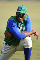 Lexington Legends outfielder Elier Hernandez (12) before a game against the Hagerstown Suns on May 19, 2014 at Whitaker Bank Ballpark in Lexington, Kentucky.  Lexington defeated Hagerstown 10-8.  (Mike Janes/Four Seam Images)