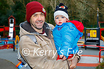 Little Johnny Myers with his dad Damien Myers enjoying the playground in the Killarney National park on Sunday