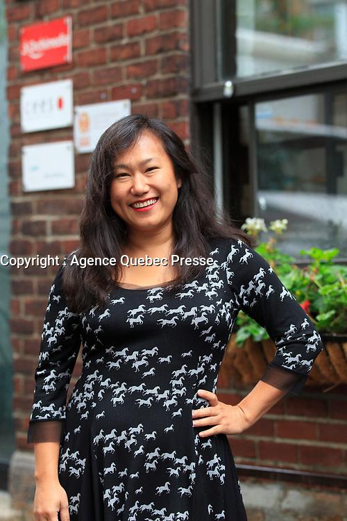 Chia Yi-Tung<br /> <br />  en 2015<br /> <br /> PHOTO :  Agence Quebec Presse