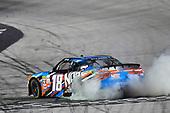 NASCAR XFINITY Series<br /> Food City 300<br /> Bristol Motor Speedway, Bristol, TN USA<br /> Friday 18 August 2017<br /> Kyle Busch, NOS Rowdy Toyota Camry celebrates his win<br /> World Copyright: Nigel Kinrade<br /> LAT Images