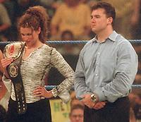 Stephanie McMahon  Shane McMahon 2000                                          Photo by  John Barrett/PHOTOlink