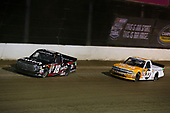 NASCAR Camping World Truck Series<br /> Eldora Dirt Derby<br /> Eldora Speedway, Rossburg, OH USA<br /> Wednesday 19 July 2017<br /> Noah Gragson, Switch Toyota Tundra and Kaz Grala, 15-40 Connection Chevrolet Silverado<br /> World Copyright: Barry Cantrell<br /> LAT Images